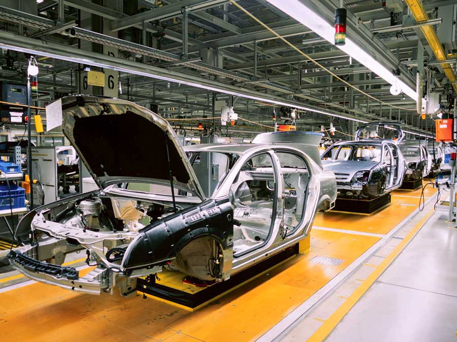 Phosphatieren-Automobilindustrie